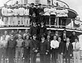 Sicamous (sternwheeler) officers and crew 1928.jpg
