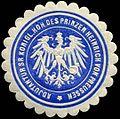 Siegelmarke Adjutantur Seiner Königlichen Hoheit des Prinzen Heinrich von Preussen W0256109.jpg
