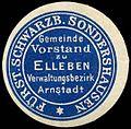 Siegelmarke Gemeinde Vorstand zu Elleben - Verwaltungsbezirk Arnstadt W0260104.jpg