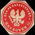 Siegelmarke Königlich Preussisches Katasteramt - Hannover II. W0246581.jpg