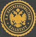 Siegelmarke K.K. Salinenverwaltung Hallstatt W0320915.jpg