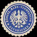 Siegelmarke K. Bade-Verwaltung - Oeynhausen W0255306.jpg