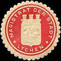 Siegelmarke Magistrat der Stadt - Lychen W0204900.jpg