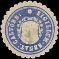 Siegelmarke Sigillum Senat. Calvörde W0385119.jpg