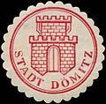 Siegelmarke Stadt Dömitz W0348822.jpg