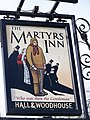 Sign for the Martyrs Inn - geograph.org.uk - 1176293.jpg