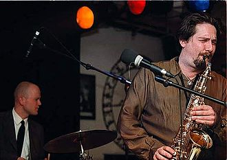 Sigurd Køhn - Sigurd Køhn playing the alto sax