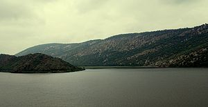 Siliserh Lake Alwar Rajasthan India 2009 Sep.JPG