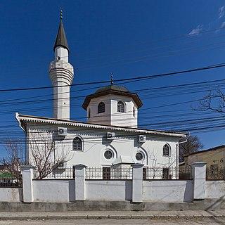 Kebir-Jami Mosque, Simferopol cathedral mosque, oldest building in Simferopol