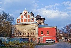 Osip Startsev - The refectory of the Simonov Monastery