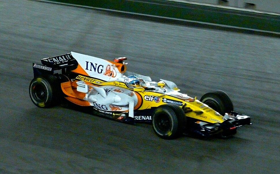 Singapore grand prix 2008 alonso win