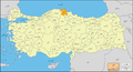Sinop-Provinces of Turkey-Urdu.png
