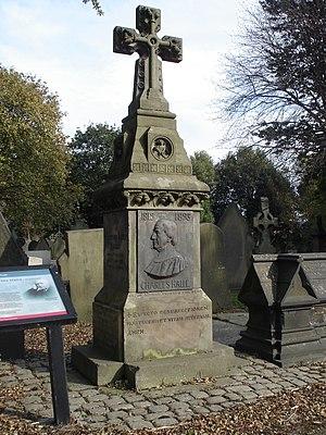 Charles Hallé - Funerary monument of Sir Charles Hallé, Weast cemetery