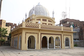 Ganga Ram - The samadhi of Sir Ganga Ram in Lahore.