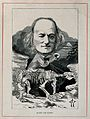 Sir Richard Owen. Wood engraving by (F. W.). Wellcome V0004404.jpg