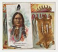 Sitting Bull, Dakota Sioux, from the American Indian Chiefs series (N36) for Allen & Ginter Cigarettes MET DP838934.jpg