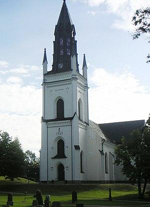 Skinnskatteberg - Image: Skinnskatteberg kyrka 2