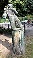 Skulptur Behmstr 40 (Weddi) Fußballspieler Michael Schoenholtz 1978.jpg