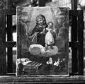 Slika na platno (olje) ex voto, v zbirki g. Lea Kozlevčarja, Slovenska vas. Marija Pomočnica, neznan mojster iz leta 1800- iz čateške cerkve, format 37,3 x 50,3 cm 1951.jpg