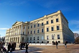 Image illustrative de l'article Palais royal d'Oslo