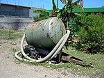 Small vacuum tanker in Cap-Haitien.jpg