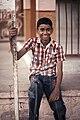 Smiling boy, Rajasthan (6361059061).jpg