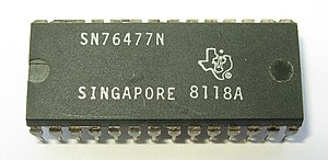 Texas Instruments SN76477 - The TI SN76477