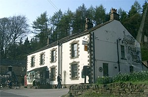 Snake Pass - The Snake Pass Inn was originally called the Snake Inn, but is now named after the pass itself, which in turn was named after the pub.