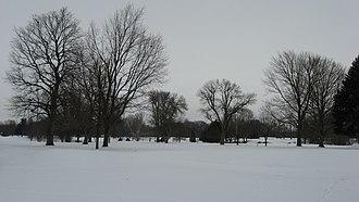 Kokomo Country Club - The course in winter