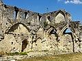 Soissons (02), abbaye Saint-Jean-des-Vignes, ruine du bâtiment des cuisines, vue depuis le sud-ouest 2.jpg