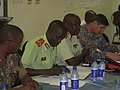 Soldiers and civilians complete disaster management workshop in Botswana (4499994868).jpg