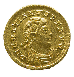 Gratian - Solidus of Gratian