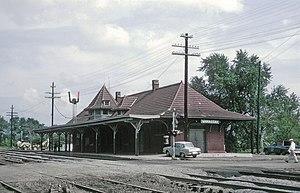 Manassas station - Manassas station, 1969