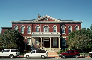Somerset County, Maryland - Image: Somerset County Courthouse, Princess Anne