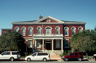 Princess Anne, Maryland - Somerset County Courthouse in Princess Anne