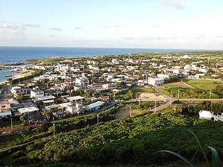 Yonaguni, Okinawa Town in Kyushu, Japan