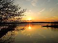 Sonnenuntergang am Seeburger See.JPG