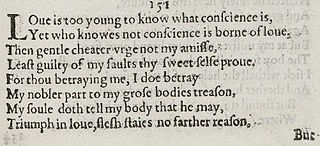Sonnet 151 poem by William Shakespeare