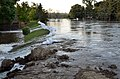 Souris River swelling above the temporary levees in Minot, N.D..jpg