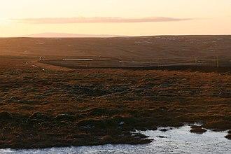 Route 1 (Iceland) - Image: South back down the ringroad. Holtavörðuheiði, November 21 10 45