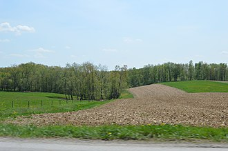 North Mahoning Township, Indiana County, Pennsylvania - Fields east of Trade City