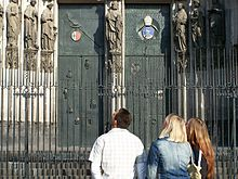Southern door Cologne Cathedral 4514.JPG