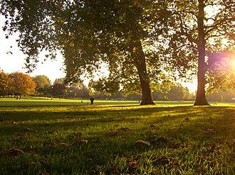 Southwark Park - Southwark Park in autumn 2008