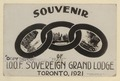 Souvenir of IOOF Sovereign Grand Lodge, Toronto 1921 (HS85-10-39215) original.tif