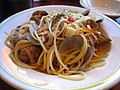 Spaghetti Vongole by ayustety in Ginza, Tokyo.jpg