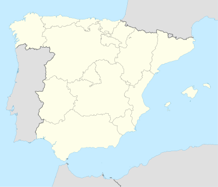 2012–13 La Liga is located in Spain
