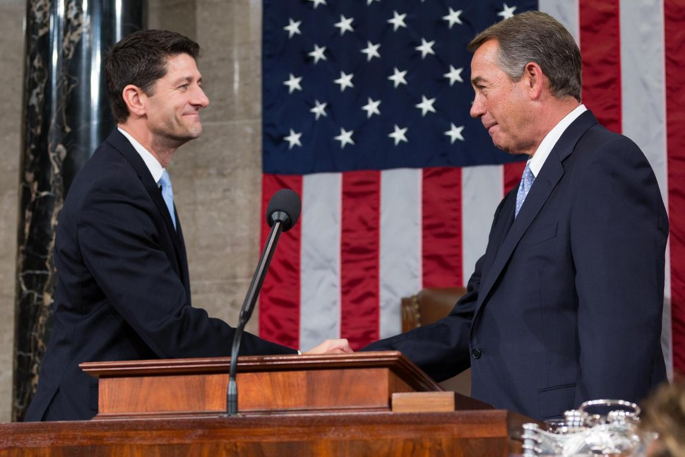 Speaker Ryan and Boehner