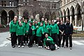 Special Olympics World Winter Games 2017 reception Vienna - Romania team.jpg