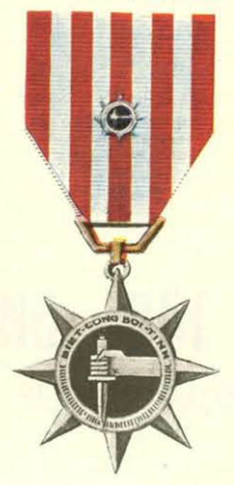 Special Service Medal (South Vietnam) - Special Service Medal with device