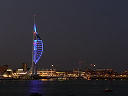 Spinnaker Tower from Gosport - geograph.org.uk - 78579.jpg